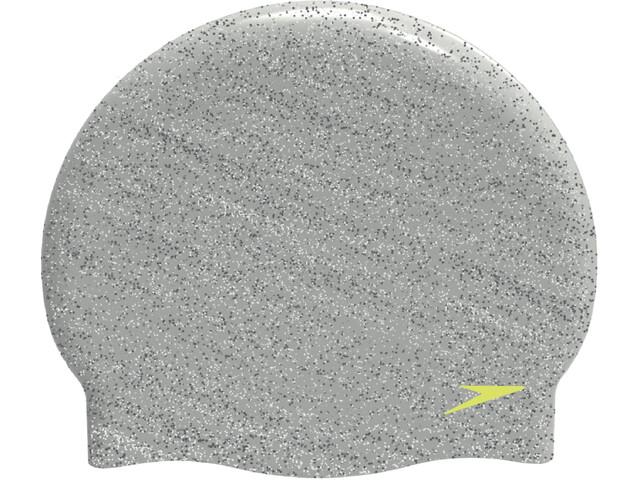 speedo Recycled Cap Grey/Green